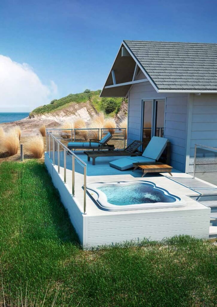 Jacuzzi® Lodge hot tub price, specifications and features