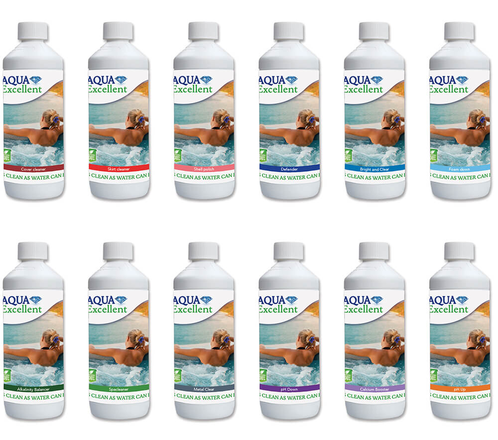 hot tub water treatment products