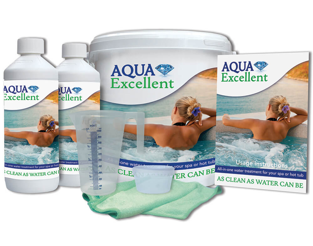 Hot tub chemicals and accessories